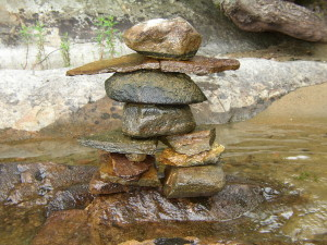 The Inuksuk we built!