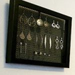 DIY Earring Holder Via SmilesGrowWithEverything