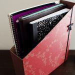 DIY Notebook Organizer Via TheBetterNester