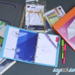 Organize for School with Printable Notebook Covers
