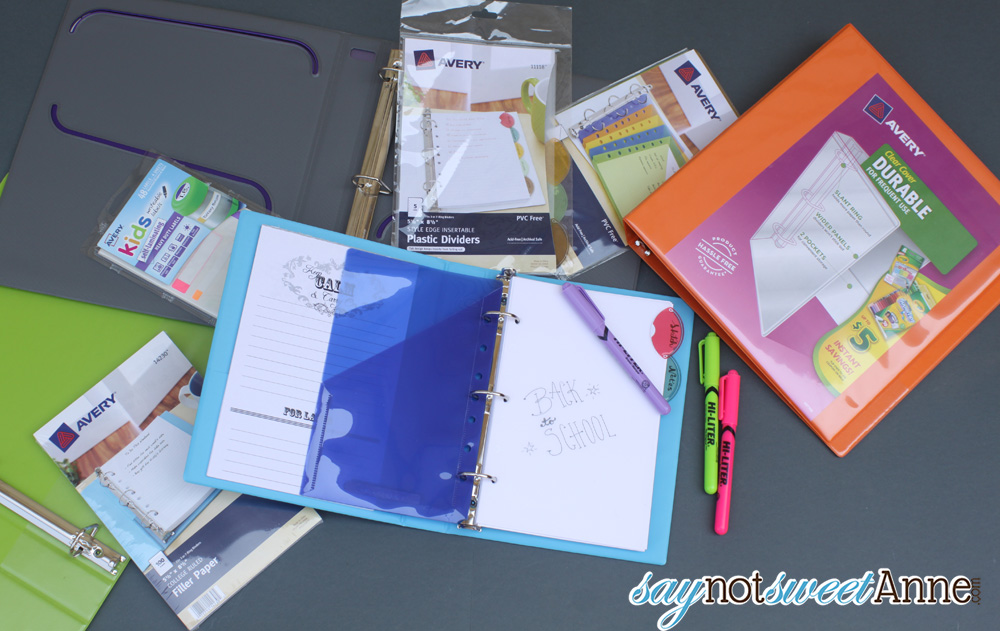 Planner Dividers Ideas