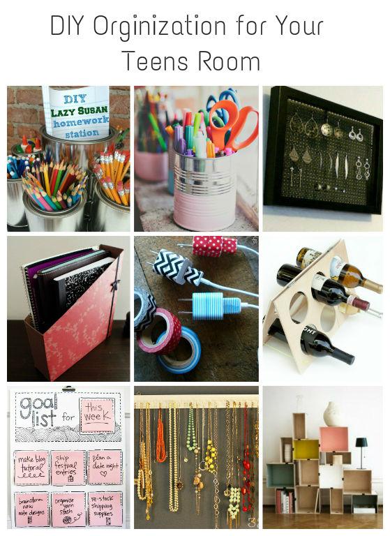 Diy Organization For Teens Sweet Anne Designs