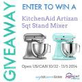 KitchenAid Mixer Giveaway!!