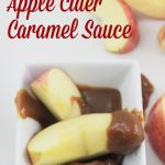 Easy Slow Cooker Apple Cider Caramel Sauce