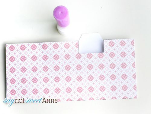 DIY Printable Budget Envelopes | Print, cut and assemble an envelope for every budget! | Saynotsweetanne.com