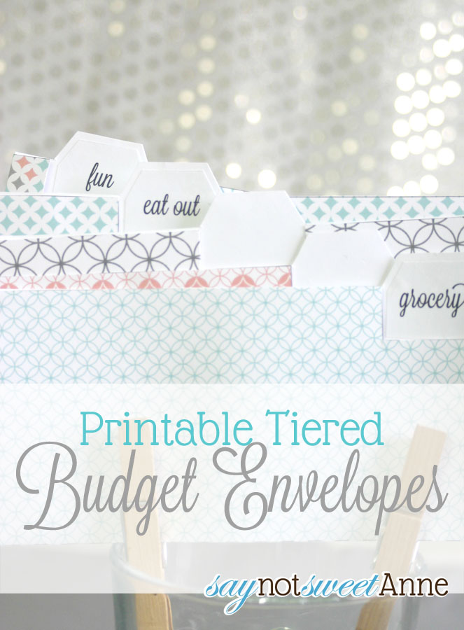 photograph regarding Free Printable Money Envelopes called Printable Price range Envelopes - Cute Anne Types