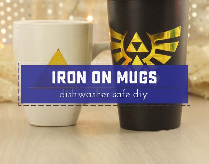 Iron On Vinyl Ceramic Mugs - Sweet Anne Designs