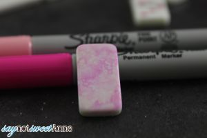 Easy Sharpie Domino Necklaces! No expensive alcohol inks. Just a few basic craft supplies can create beautiful pendants! | saynotsweetanne.com