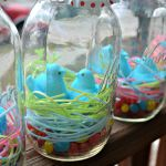 Easter Mason Jars from The Domestic Geek