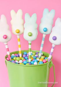 Easter Peep Pops from Love from the Oven