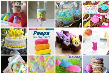 20 Creative Uses for Peeps! Crafts, recipes, and more. See them all at Saynotsweetanne.com