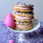 White Chocolate Peep Cookiewiches from The Frugal Foodie Mama