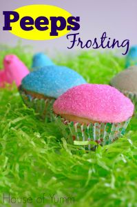 Peeps Frosting from House of Yumm
