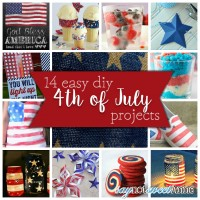 14 Amazing Fourth of July Projects! Everything from recipes to shirts to decor! | saynotsweetanne.com