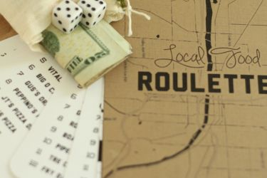 Inexpensive, easy, and AWESOME gift for the foodie in your life! Local Food Roulette!   saynotsweetanne.com