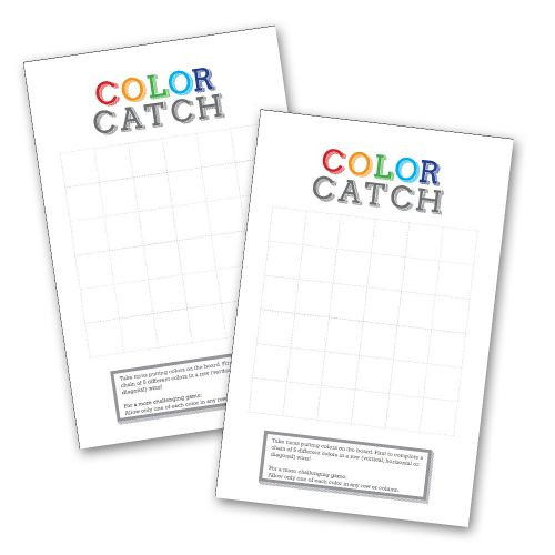 Printable Classroom Game using Candy! Easy to put together. All you need is this printable and a bag of colored candy! | saynotsweetanne.com