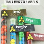 Halloween Printable Candy Labels
