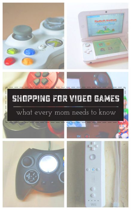 Don't be daunted by countless names, consoles or prices when shopping for video games. This guide covers the basics that you need to know! |saynotsweetanne.com