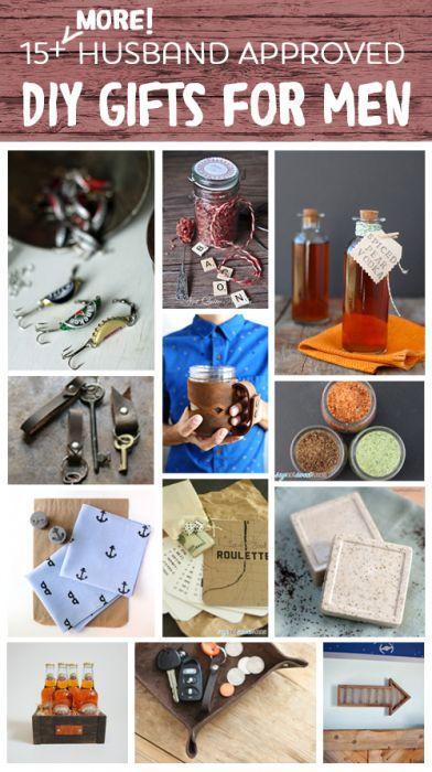 15 Husband Approved DIY Gifts for Men - Sweet Anne Designs