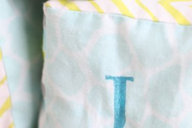 Adorable and Easy DIY soft blocks! Perfect for baby showers, or a just because gift!   saynotsweetanne.com