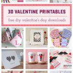 30 Valentine's Day Free Printables