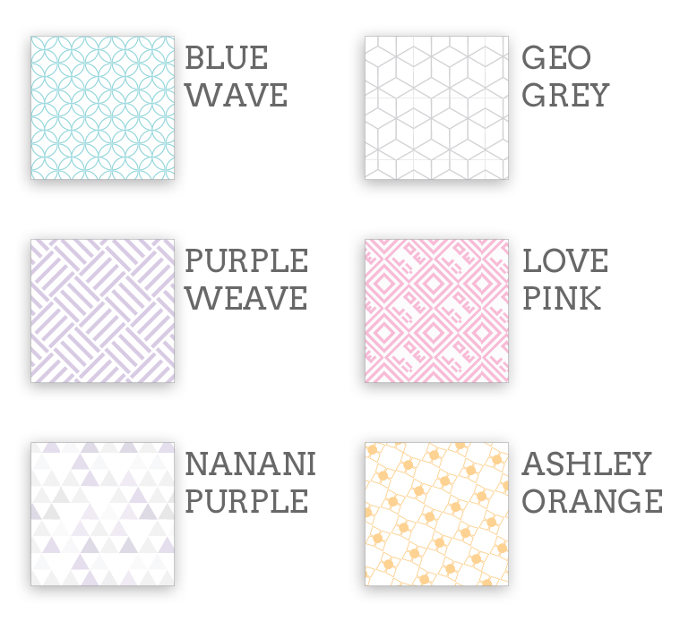 2016 Planner Swatches