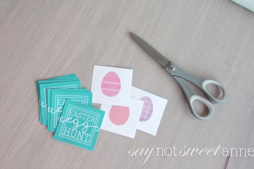 Free Printable Easter Memory Game. Great for Easter baskets or treat bags!   saynotsweetanne.com