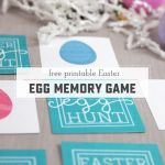 Easter Printable Memory Game
