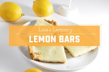 Lisa's Lemony Lemon Bars, an easy, no-bake dessert from my childhood! | saynotsweetanne.com