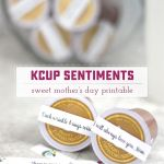 Sentimental Kcup Mother's Day Gift