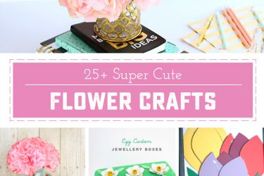25 Flower Crafts via saynotsweetanne.com!!