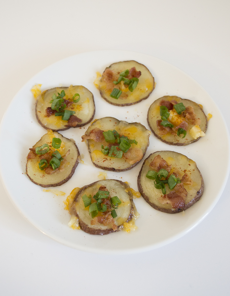Potato Medallions as an Alternative to the Traditional Potato Skin