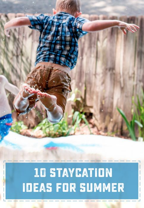 Going on Vacation doesn't have to mean a lot of time or travel to be fun! Check out these 10 Great Staycation ideas. | saynotsweetanne.com