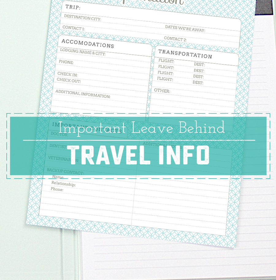 travel information family pets
