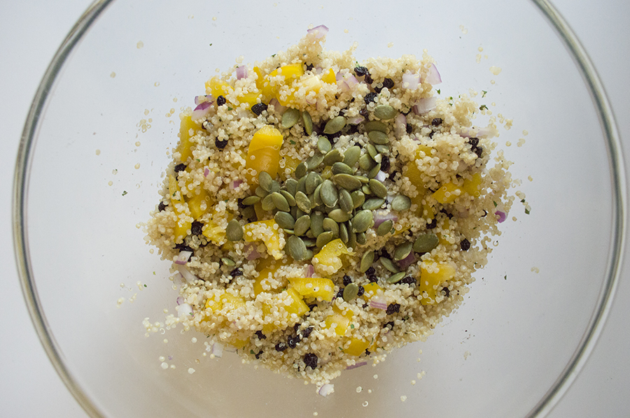 Refreshing and colorful, this quinoa salad is sure to be one of your best summer meals