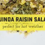 Refreshing Quinoa-Raisin Salad