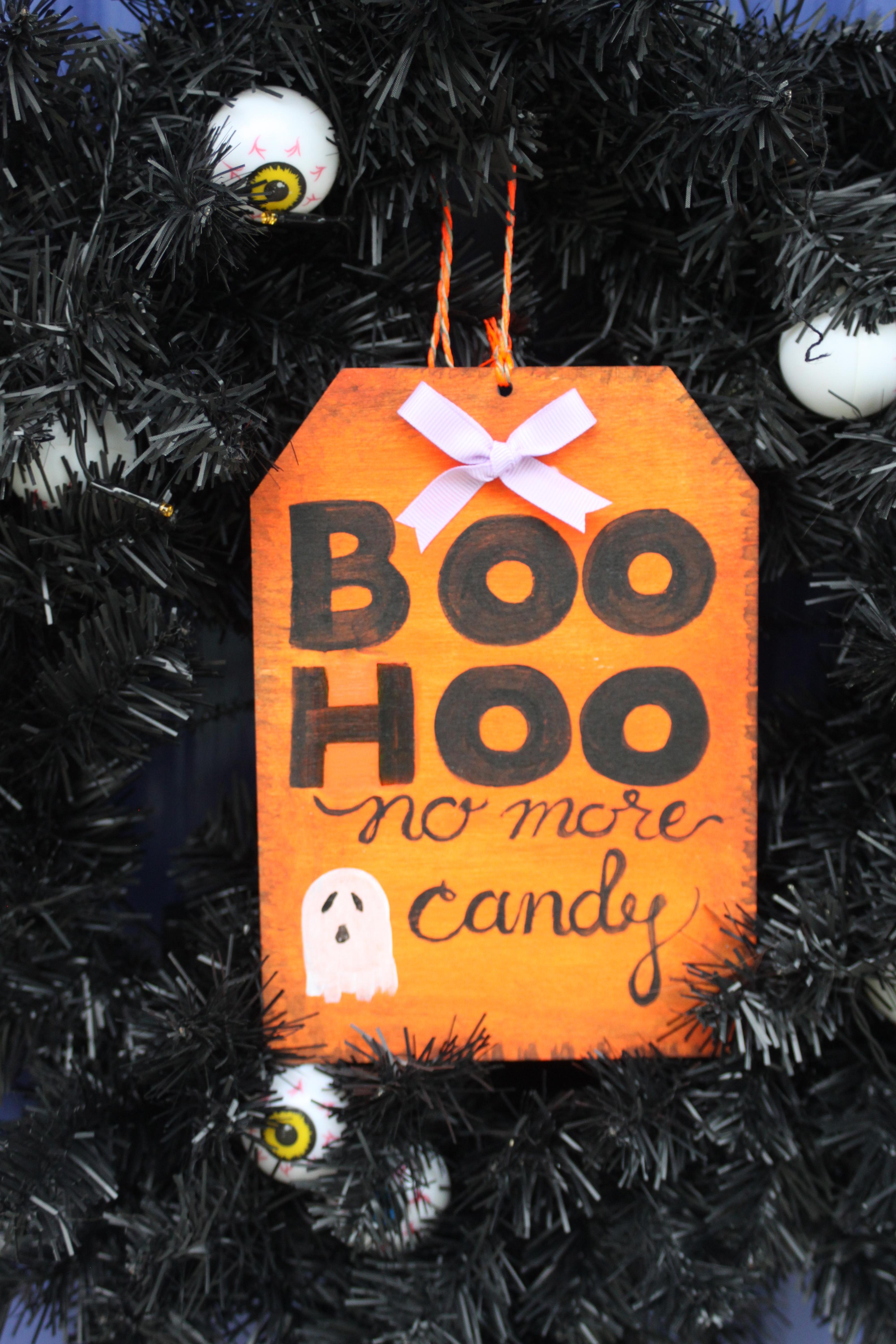 Cute Diy Halloween Door Sign Sweet Anne Designs