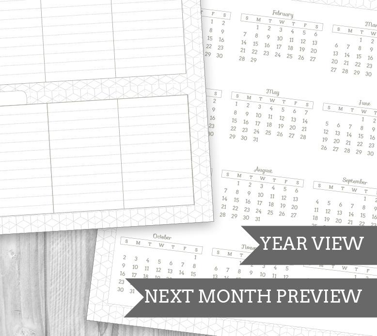 Free Printable Student Planner - Sweet Anne Designs