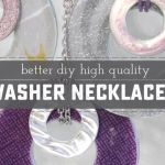 Refined DIY Washer Necklace
