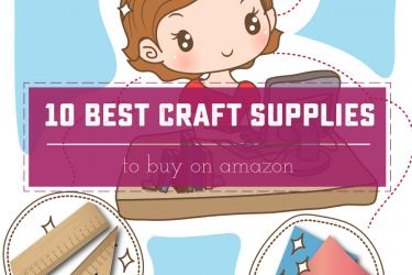 The 10 best Craft Supplies to Buy on Amazon. A Drool-worthy list for when you can't get out of the house! | Saynotsweetanne.com