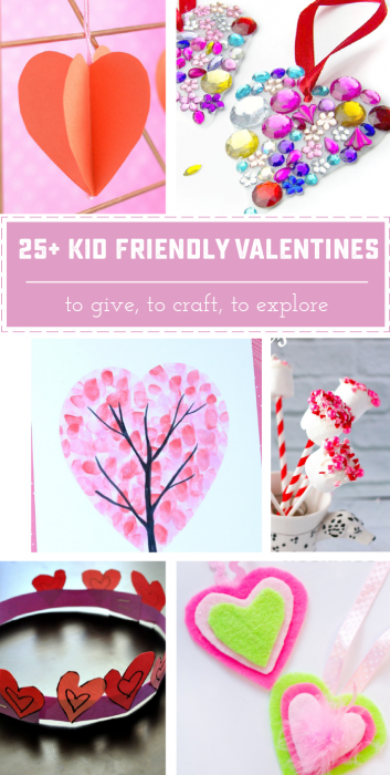 25 + Adorable Valentine crafts, Valentines and treats perfect for little helpers! | Saynotsweetanne.com