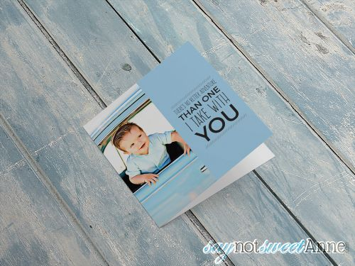 DIY Cartoon Mother's Day Card with Your Own Photos! Use an online editor to turn your photos into a cartoon, then make a special Mother's Day card from the result! | saynotsweetanne.com