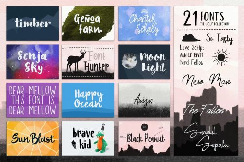 Designs Font Box
