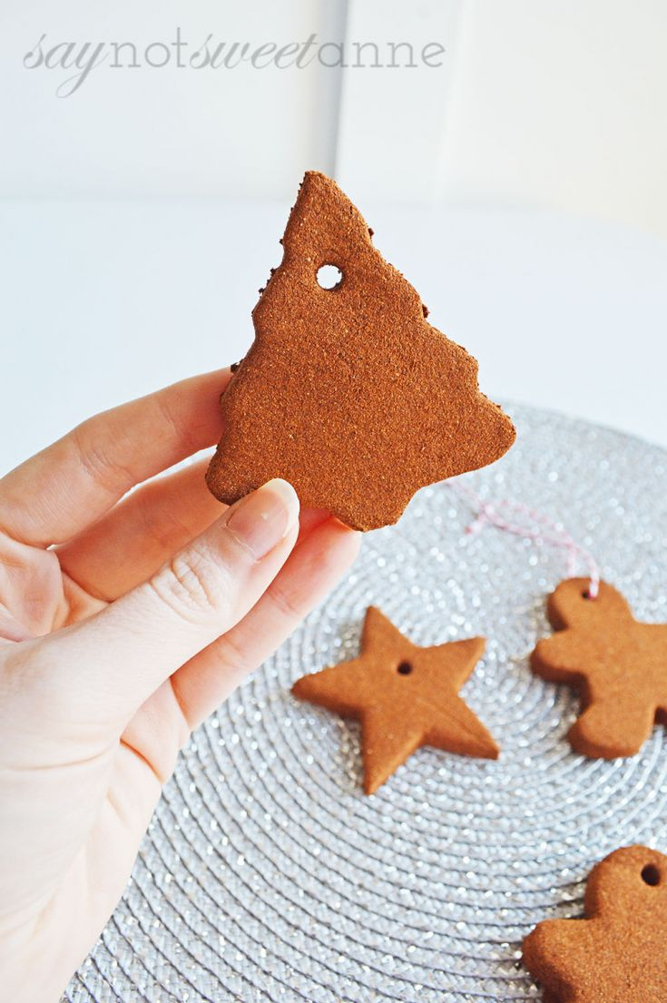 Make Cinnamon Ornaments
