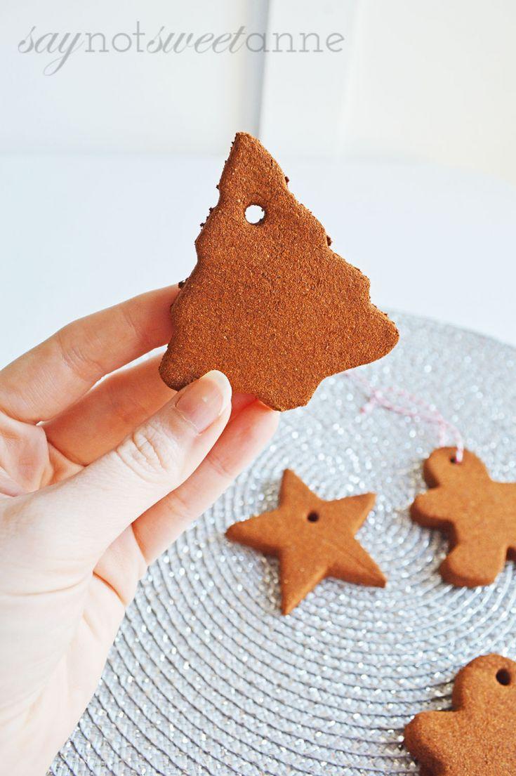 Make Cinnamon Ornaments