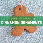 How To Make DIY Cinnamon Ornaments