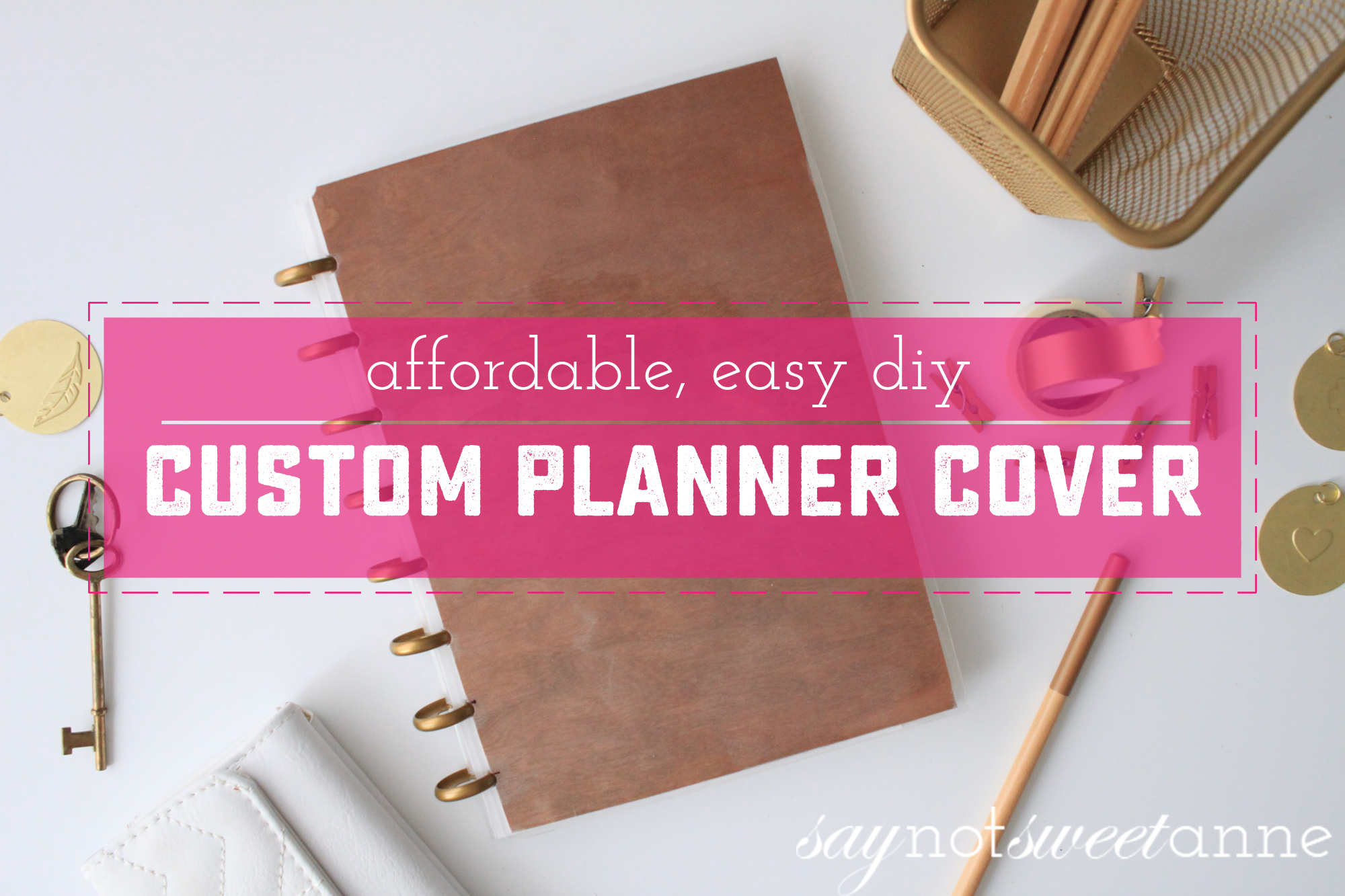 How to make custom happy planner and other discbound for Create custom planner