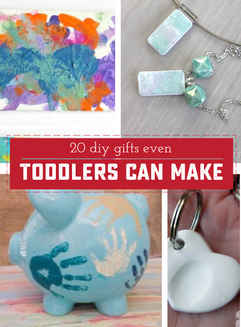 20 Delightful Gifts That Even A Toddler Can Make Sweet Anne Designs