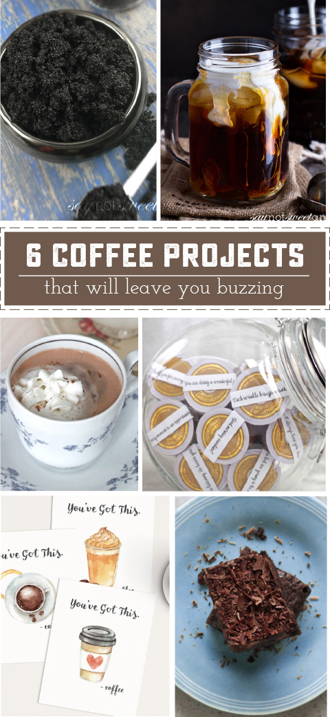 5 Delightful Coffee Recipes and Crafts That will Make You Buzz | saynotsweetanne.com