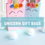 Adorable Unicorn Treat Bags to Delight and Surprise
